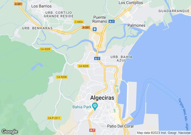 Map for For Sale - Algeciras