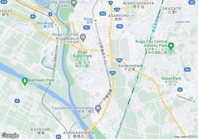 Map for Saitama, Konosu