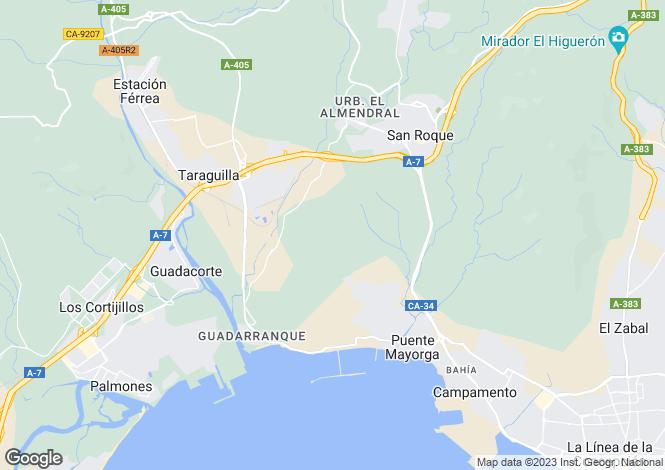 Map for Alcaidesa Alto, Cadiz, Andalucía