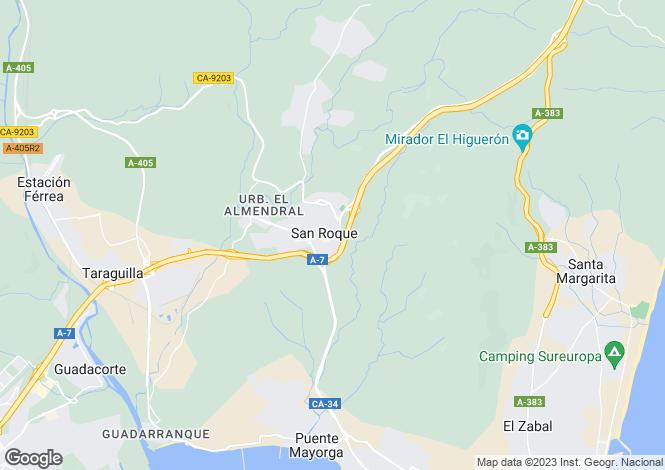 Map for San Roque, Sotogrande, Cadiz, Spain