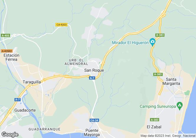 Map for San Roque, Cádiz, Andalusia