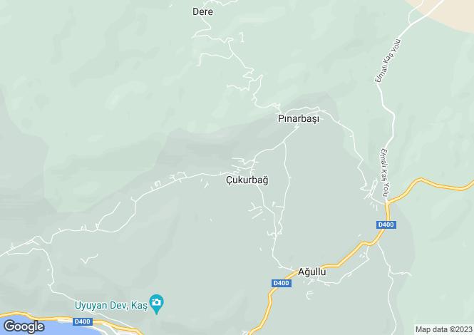 Map for Antalya, Kas, Kas