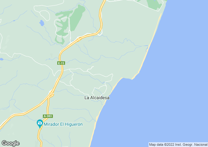 Map for Alcaidesa, Alcaidesa, Cadiz