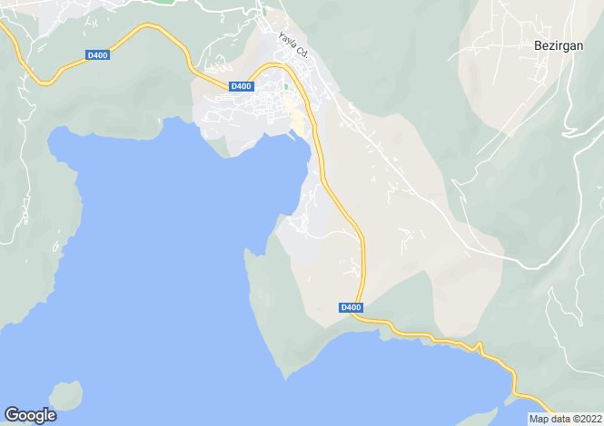 Map for Kisla, Kalkan, Antalya, Turkey