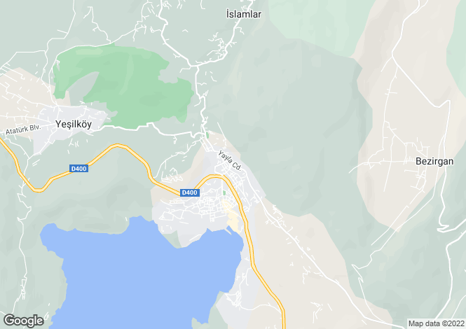 Map for Kalkan, Antalya,  Turkey