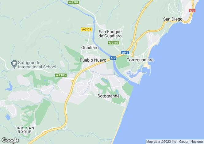 Map for 7 Bedroom Villa, Kings & Queens Zone, Sotogrande Costa