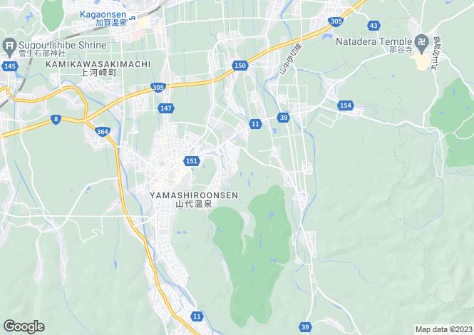 Map for Ishikawa