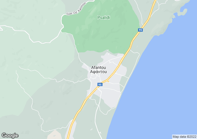 Map for , Afandou / Kolymbia, Greece