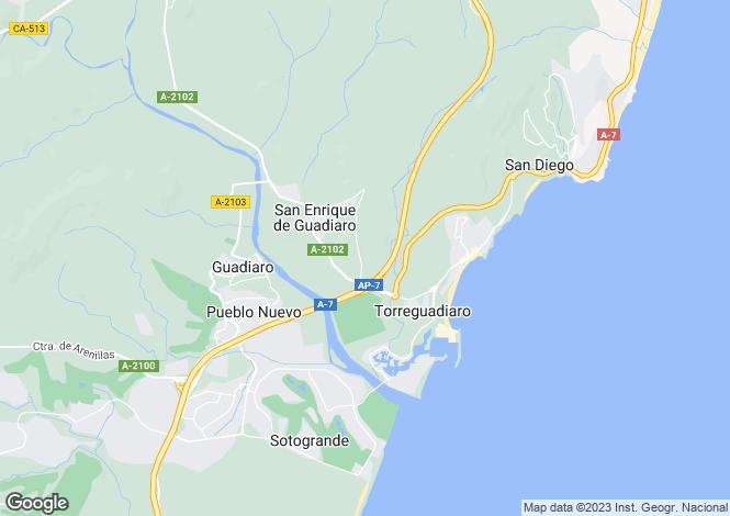 Map for Sotogrande Alto, Sotogrande, Cadiz