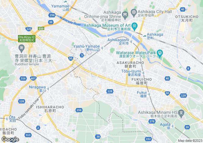 Map for Tochigi