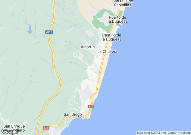 Map for Duquesa, Málaga, Andalusia