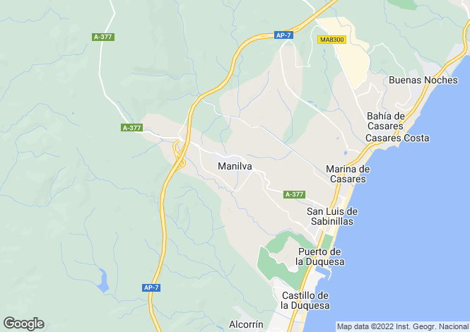 Map for Manilva