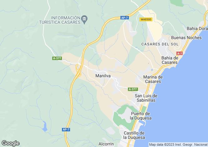 Map for La Bodega, Manilva, Malaga