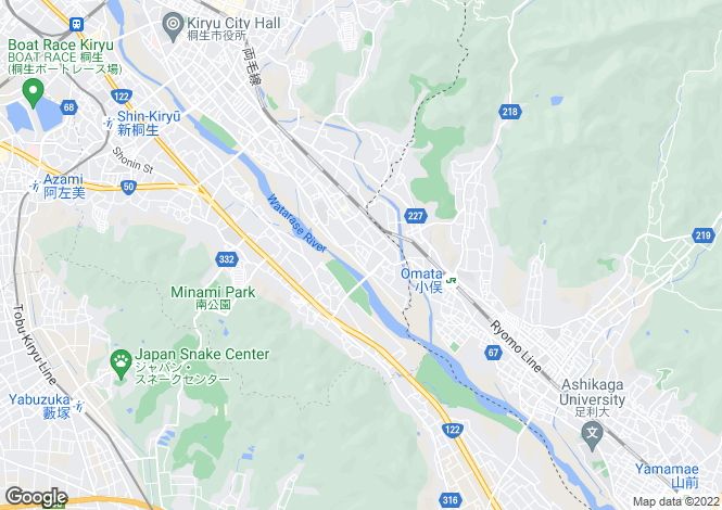 Map for Japan