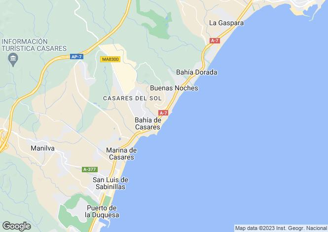 Map for Manilva, Costa Del Sol, Spain