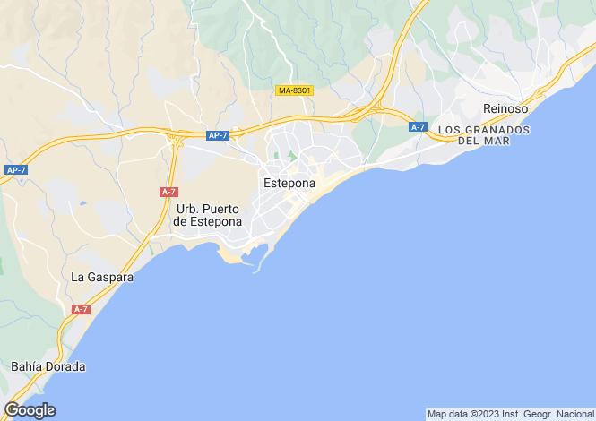 Map for Darya, Estepona Town