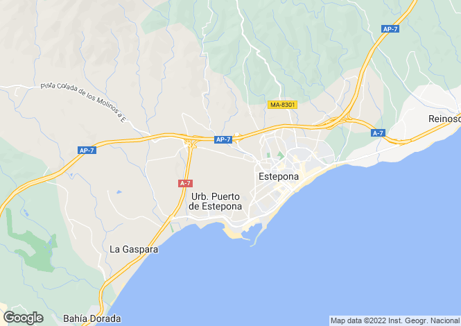 Map for Sotogrande, Cadiz, Andalucia, Spain