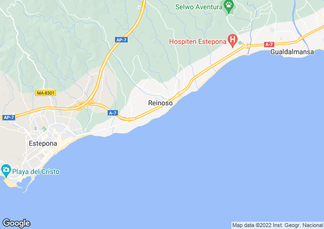 Map for Estepona,Málaga