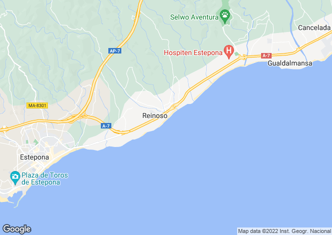 Map for El Padron, Andalucia, Spain