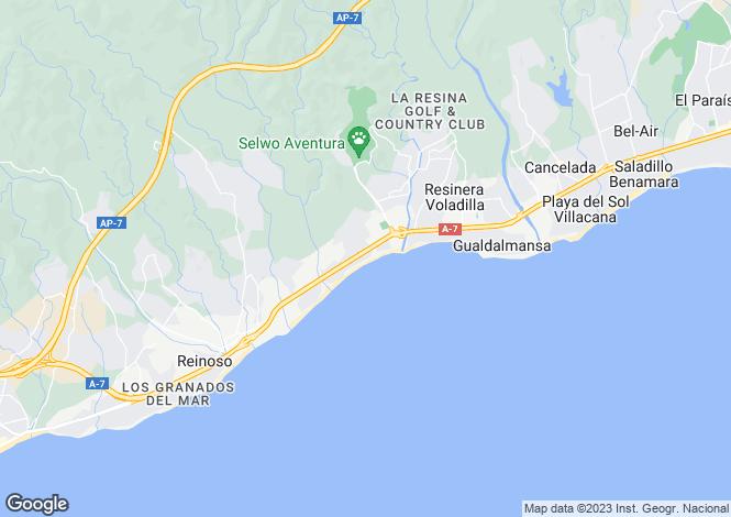 Map for Valerin, El,Málaga