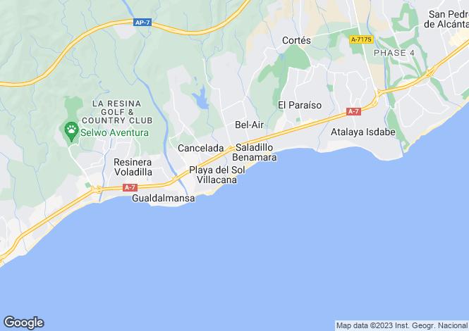 Map for Estepona
