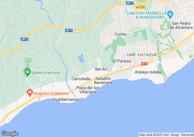 Map for New Golden Mile, Costa Del Sol, 29688, Spain