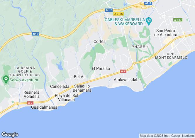 Map for Cortijo Style Villa, Estepona, Malaga