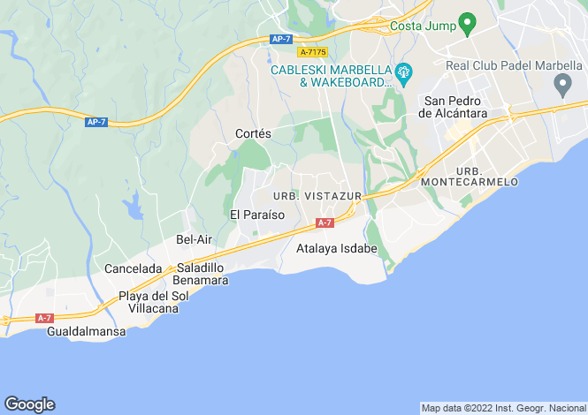 Map for El Presidente, Andalucia, Spain
