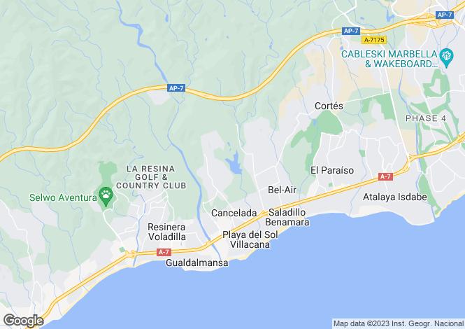 Map for Los Flamingos, Málaga, Andalusia