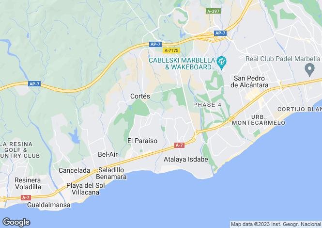 Map for Atalaya, Marbella-Estepona, Spain