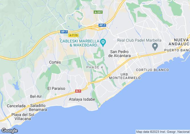 Map for Guadalmina Baja, Costa Del Sol, 29678, Spain