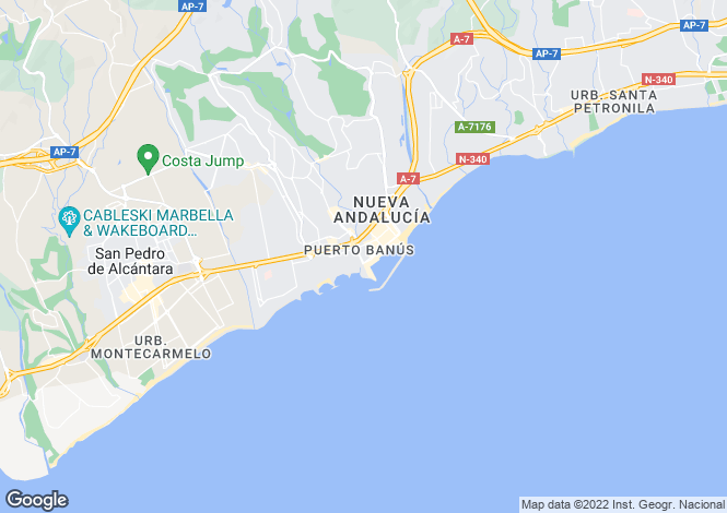 Map for Puerto Banus, Málaga, Andalusia