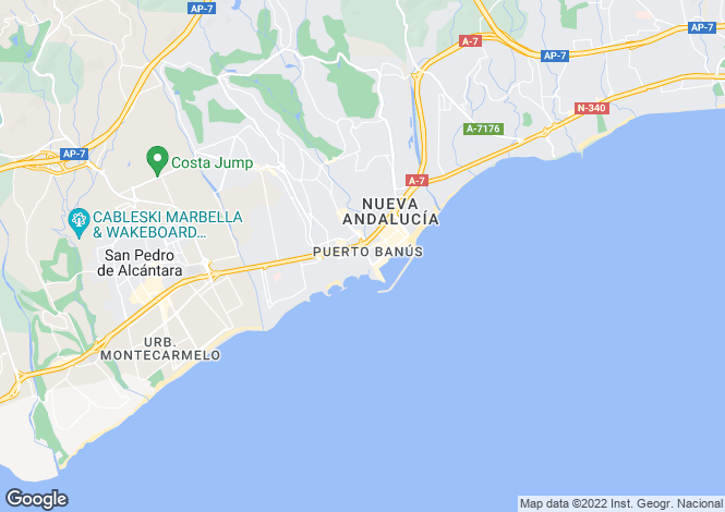 Map for Medina Gardens, Marbella - Puerto Banus, Malaga, Spain