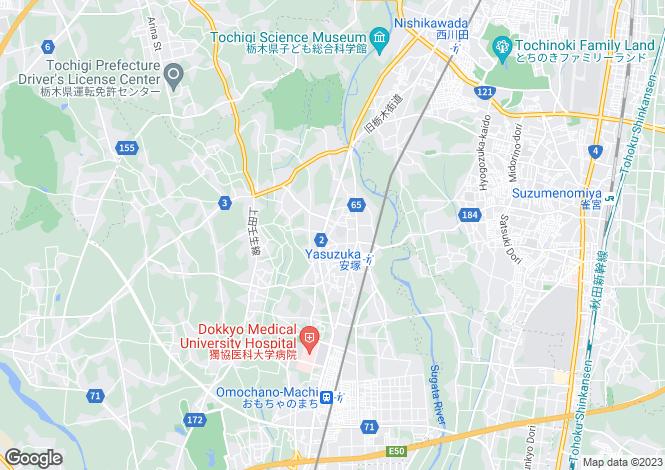 Map for Niigata, Yasuzuka