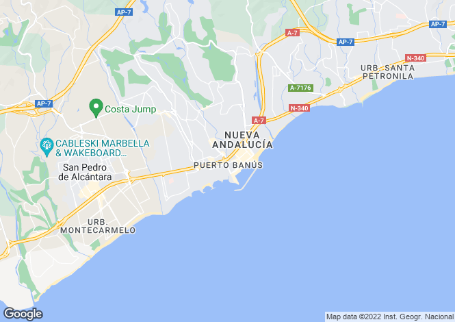 Map for Puerto Banus, Costa Del Sol, 29660, Spain