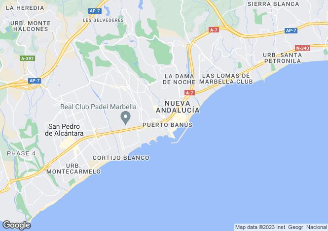 Map for Completely Refurbished Villa, Puerto Banus, Malaga
