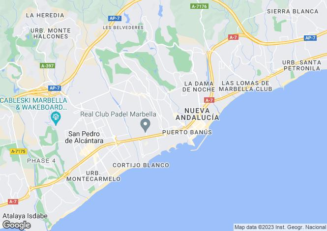 Map for Puerto Banus, Málaga, Andalusia