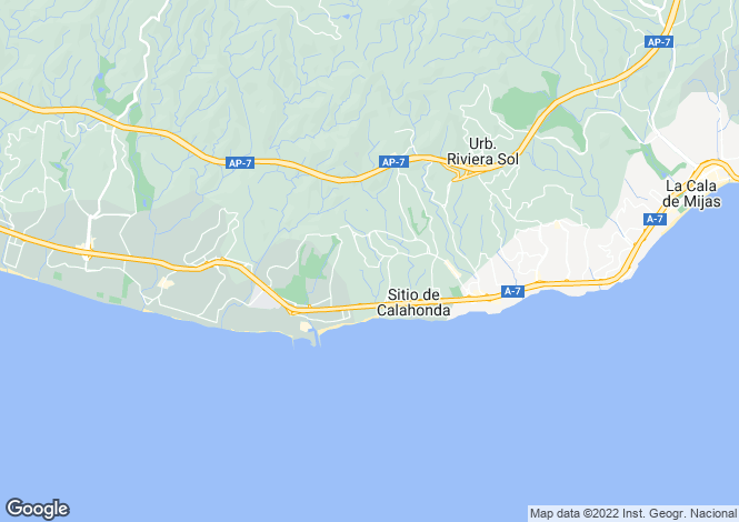 Map for Calahonda, Málaga, Andalusia
