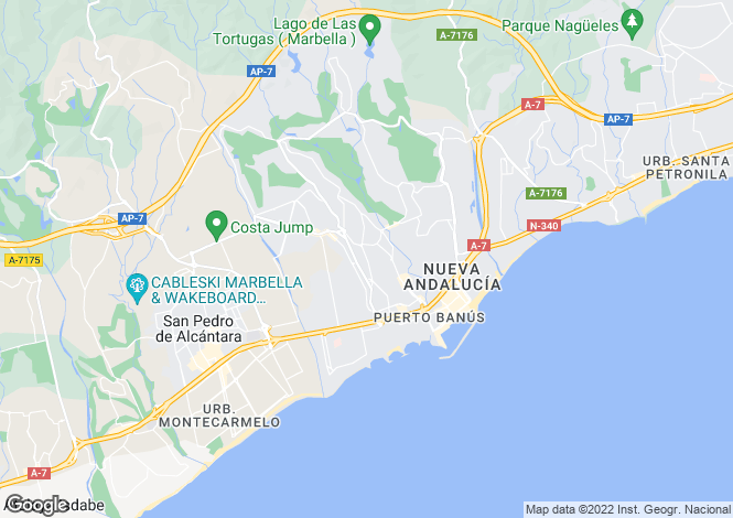 Map for Ivy Residences, Nueva Andalucia, Marbella