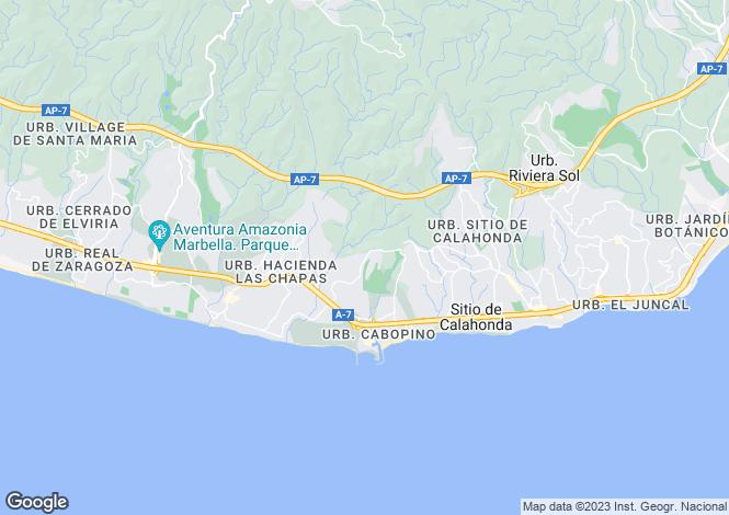 Map for Cabopino, Málaga, Andalusia