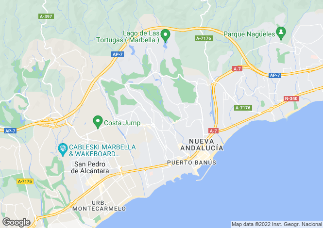 Map for Marbella