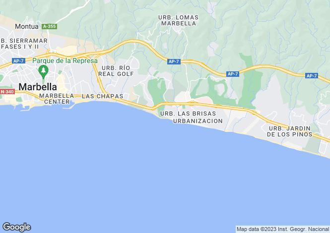 Map for Los Monteros, Málaga, Andalusia