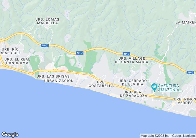 Map for El Rosario, Málaga, Andalusia