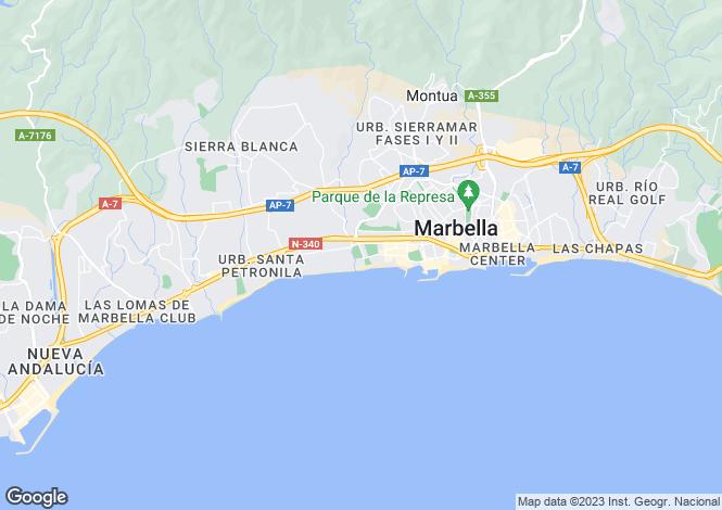 Map for Marbella, Málaga, Andalusia
