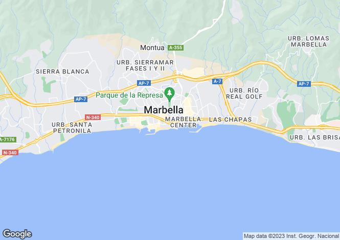 Map for Las Brisas, Andalucia, Spain