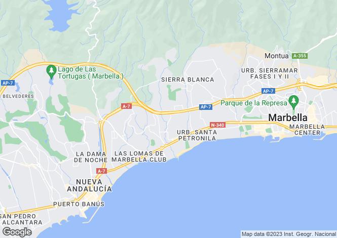 Map for Marbella, Marbella, Malaga, Spain