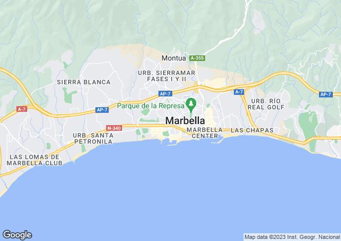 Map for Bahia De Marbella, Andalucia, Spain