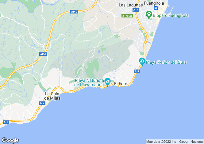 Map for Mijas, Málaga, Andalusia
