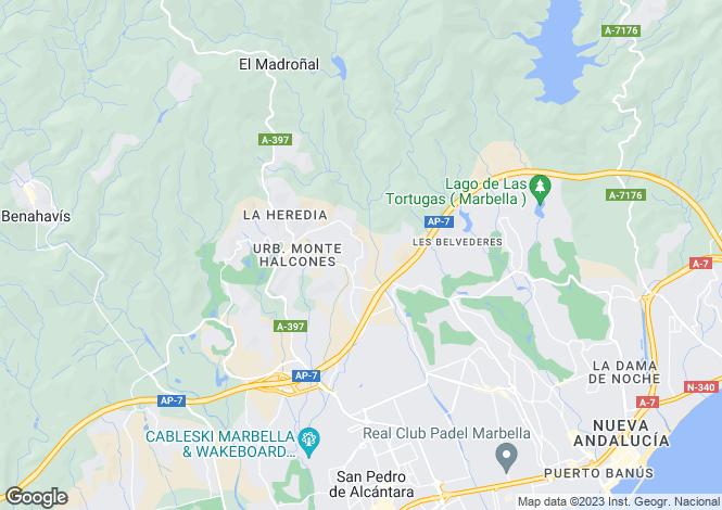 Map for La Quinta, Andalucia, Spain
