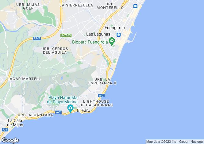 Map for La Cala Hill Club, Calle De Arquitectos, La Cala De Mijas, Riviera de Sol, 29649, Malaga, Spain